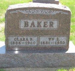 Clara B <i>Miller</i> Baker