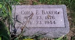 Mrs Cora Eleanor <i>Cross</i> Baker