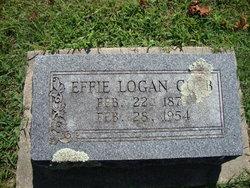 Effie <i>Logan</i> Cobb