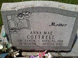 Anna Mae <i>Stringer</i> Cottrell