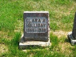 Clara Lavina <i>Albertson</i> Holliday