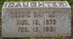Elizabeth Bessie Bartlett