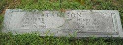 Henry Hamilton Ham Atkinson