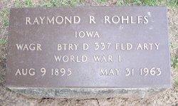 Raymond R Rohlfs