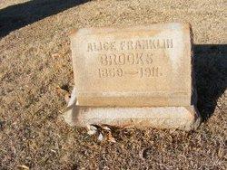 Alice <i>Franklin</i> Brooks