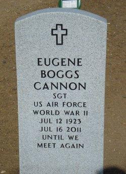Eugene Boggs Gene Cannon