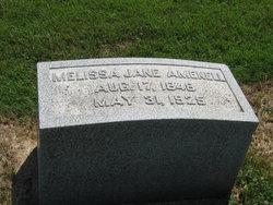 Melissa Jane <i>Coonrod</i> Amenell