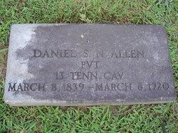 Pvt Daniel S. N. Allen