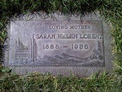Sarah Helen <i>Akert</i> Lorenz