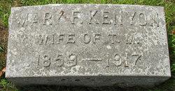 Mary Frances <i>Kenyon</i> Northup