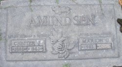 Marion Gertrude <i>Larson</i> Amundsen