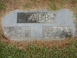 Lyle Campbell Tabb, II