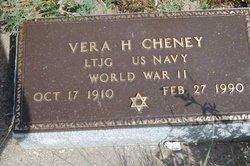Vera <i>Hamerschlag</i> Cheney