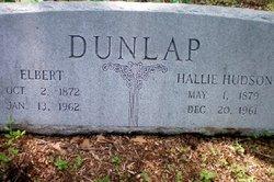 Hallie <i>Hudson</i> Dunlap