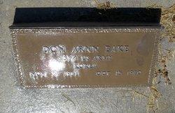 Don Arnn Bake