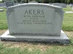 Ruth <i>Fontaine</i> Akers