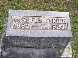 Rufus S. Rice
