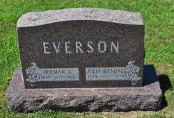 Julia <i>Randall</i> Everson