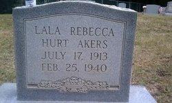 Lala Rebecca <i>Hurt</i> Akers