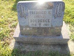 Fredrick H Fritz Boudonck