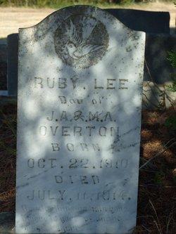 Ruby Lee Overton