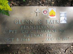 Pvt Glenn Charles Baer