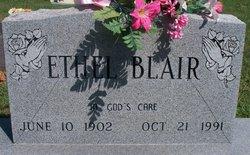 Sidney Ethel Ethel <i>Graham</i> Blair