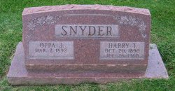 Harry Thomas Snyder