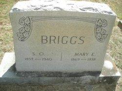 Mary Eva Mollie <i>Finch</i> Briggs