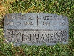 Walter A Baumann