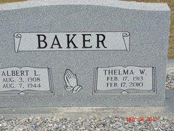 Thelma <i>West</i> Baker