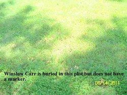 Winslow A Carr