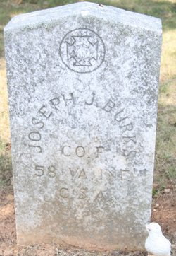 Sgt Joseph J. Burks