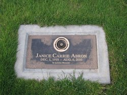 Janice Carrie Abron