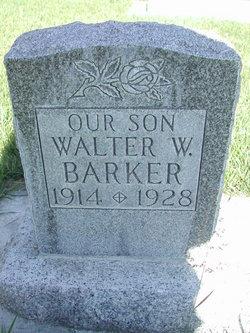 Walter William Barker