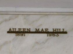 Aileen Mae <i>Hicks</i> Hill