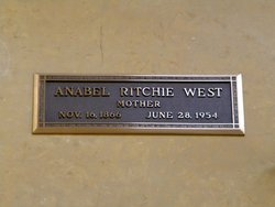 Anna Bell <i>Ritchie</i> West