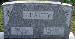 Virgie Viola <i>Gress</i> Beatty