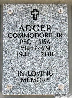 PFC Commodore Adger, Jr