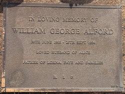 William George Alford