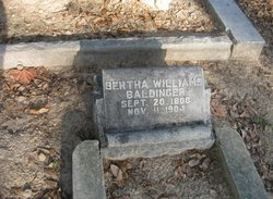 Bertha <i>Williams</i> Baldinger