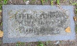 Ethel L Thomas