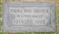 Virginia <i>Webb</i> Dumbolton