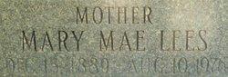 Mary Mae <i>Lees</i> Thiriot