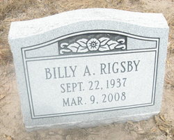 Billy A. Rigsby