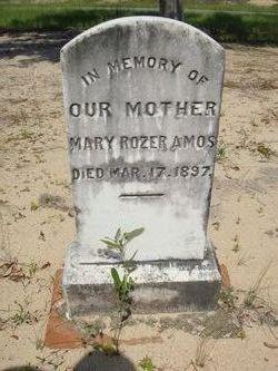 Mary Ann <i>Rozier</i> Amos