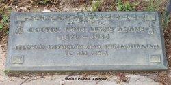 Dr John Lewis Adams