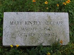Mary <i>Kinsey</i> Auclair