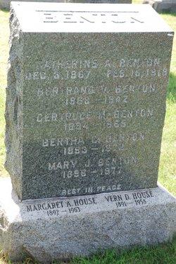 Katherine Agnes <i>Cullinan</i> Benton