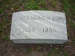 Esther Caroline <i>Gerrish</i> Boyer